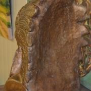 Indianenkop - 35x23cm - €60,-