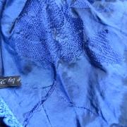 Kobaltblauwe Sjaal - 226cm Lang - €25,- (verkocht)