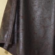 Poncho Bruin Kunstleer - Lengte Voor 50cm - S - €25,-